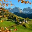 St. Magdalena in the Dolomites — Stock Photo #26996583