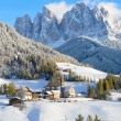 Santa Maddalena in winter — Stock Photo #31343431