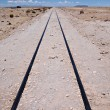 Railroad track leading nowhere — Stock Photo #32247645