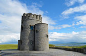Tower at the cliffs of Moher, Ireland — Stock Photo
