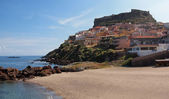 Coastal town Castelsardo — Stock Photo