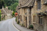 Castle Combe, Cotswolds cottages — Stock Photo