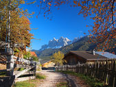 Autumn in South Tyrol — Stock Photo