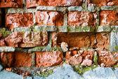 Destruction wall — Stock Photo