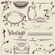 Vector set: design elements - Stock Vector