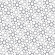Stockvector : Vector monochrome background of repeated elements