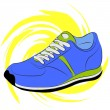 Running shoes — Stockvektor