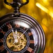 Stock Photo: Beautiful pocket watch