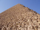The Great pyramid in Egypt — Stock Photo