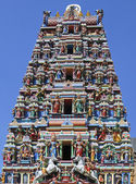 Gopuram of Hindu temple — Stock Photo