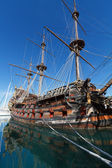 Spanish galleon — Stock Photo