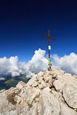 Dolomites - Rosetta peak — Stock Photo