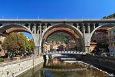 Bridges in Sori, Italy — Stock Photo