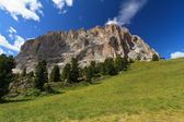 Langkofel - Sassolungo mount — Stock Photo