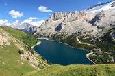 Dolomiti - fedaia lake — Stockfoto