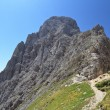 Dolomiti - Roda di Vael — Stock Photo