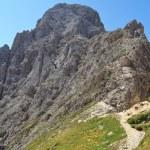 Roda di Vael - Italian Dolomites — Stock Photo