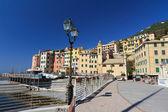 Strandpromenaden i sori, italien — Stockfoto