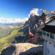 Dolomiti - aerial view from Rosetta mount — Stockfoto