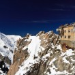Aiguille du Midi -  Mont Blanc Massif - Stock Photo