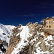 Aiguille du Midi -  Mont Blanc Massif — Stock Photo
