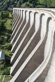 Concrete dam — Stock Photo