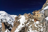Arves - mont blanc-massivet — Stockfoto