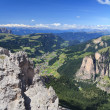 Dolomiti - Val Gardena — Stock Photo