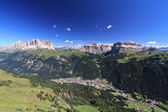 Canazei e val di Fassa — Stock Photo