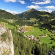Laste and Cordevole valley — Stock Photo