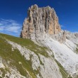 Royalty-Free Stock Photo: Sforcella peak - Catinaccio group