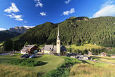 Alba di Canazei - Val di Fassa — Stock Photo