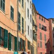 Liguria - homes in Camogli — Stock Photo