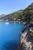 Golfo Paradiso, Liguria, Italy — Stock Photo