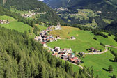 Dolomiti - Laste village — Stock Photo