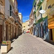Sardinia - main street in Carloforte — Stock Photo