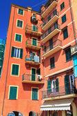 Casas típicas de liguria — Foto de Stock