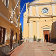 Carloforte - San Carlo church — Stock Photo