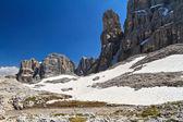 Dolomiti - landscape in Sella mount — Stock Photo