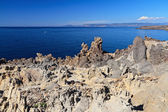 Granite cliff in Carloforte island — Stock Photo