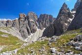Dolomiti - Piz da Lech and Mezdi valley — Stock Photo