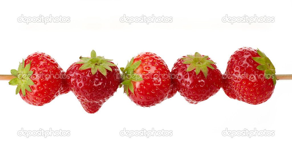 Fresh strawberries — Stock Photo #12112176