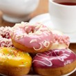 baked donuts — Stock Photo