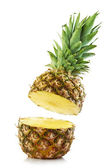 Half pineapple — Stock Photo