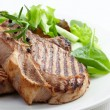 Grilled meat steak — Stock Photo #26058747