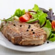 Grilled meat steak — Stock Photo #26058761