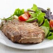 Grilled meat steak — Stock Photo