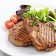 Grilled meat steak — Stock Photo #26058765