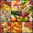Various food collection — Stockfoto