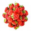 Fresh red strawberries — Stock Photo #27613079
